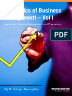 The Basics of Business Management Vol I