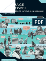 (Advances in Sociolinguistics) Andrea Mayr-Language and Power_ an Introduction to Institutional Discourse (Advances in Sociolinguistics) -Continuum (2008)