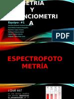Espectrofotometría Reyna