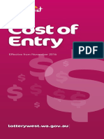 Cost of Entry