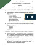 Ficha 1-A7-Conjunto de Resultados, Acontecimentos e Lei de Laplace