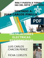 LUIS CARLOS CHACON PEREZ -Polo a Tierra y Puesta a Tierra Del Retie y La Ntc 2050