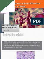 sindromes mieloproliferativos cronicos