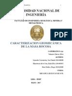 Clasificación Geomecánica de La Masa Rocosa_Lab3