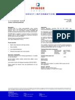 Brochure PFINDER 860 Colour Contrast Penetrant, 1p