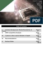AMD Competitve Strategy