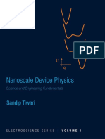 Nanoscale Device Physics -- Sandip Tiwari