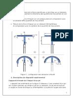 TP MDF 5 Etude de la reaction d'un jet