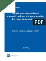 Estudio Caracterizar Mercado Nacional Internacional Minerales Estrategicos