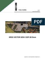 KRISS VECTOR GEN II SDP-SB