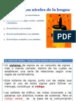 Los Nivele s Del a Lengua