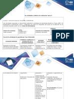 Guía de Actividades y Rubrica de Evaluación - Tarea 7