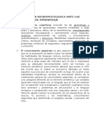 La Evaluación Neuropsicologica Ante Las Dificultades de Aprendizaje 2