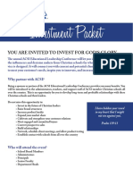 2014 ELC Sponsorship Packet