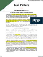 José Pastore_custos Dos Acidentes de Trabalho