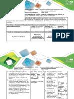 Guía de Actividades y Rúbrica de Evaluación Fase 1 – Analizar Los Objetivos Del Milenio La Importancia Del Correcto Manejo de