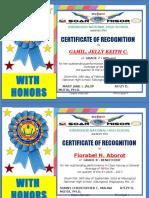 Certificates q1