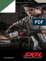 Catálogo de Produtos Skil 2016