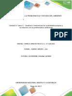 Tarea 4 – Analizar e Interiorizar Las Actividades Propias y Su Relación Con La Problemática Ambiental_ RafaelCamiloAraujo