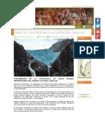 Ventisquero Colgante Queulat Ventisquero en Puyuhuapi