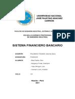 Sistema Financiero Bancario