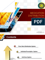 Medication Distribution Systems 1