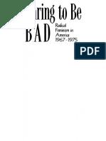 (American Culture) Alice Echols-Daring to Be Bad_ Radical Feminism in America 1967-1975-Univ of Minnesota Press (1989)
