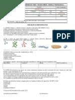 Avaliação de Microbiologia