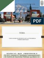 Indicadores de Eficiencia de las Tesorerias Gubernamentales america latina