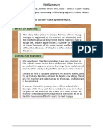 plot summary template