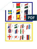Banderas de Paises en Inglés
