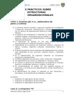 Casos Prácticos Sobre Estructuras Organizacionales