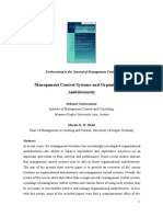 31401_Gschwantner_Hiebl (JoMaC, 2016) - Management Control Systems and Organizational Ambidexterity.docx