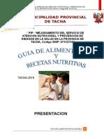 GUIA DE ALIMENTACION Y NUTRICION (RICHARD VALENZUELA)