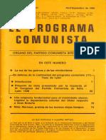 El Programa comunista numer 35-36