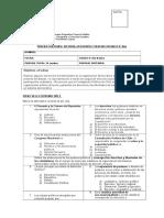 Evaluación de contenidos Marzo-Abril 6° año Básico
