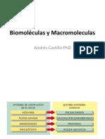 Biomoleculas y Macromoleculas