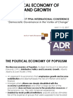 The Political Economy of Populism and Growth (Manhit)