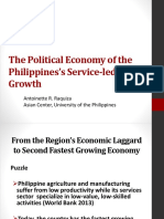 The Political Economy of the Philippines's Service-led Growth (Raquiza)
