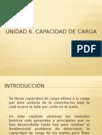 Unidad 5. Capacidad de Carga