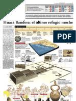 Huaca Bandera Último refugio Moche