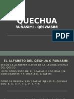 QUECHUA 1ra. Clase