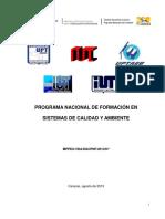 Diseno Pnf Sistemas de Calidad y Ambiente 2013