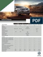 Ficha Técnica Nueva Volkswagen Amarok 1