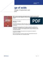 HSE - Bulk Storage of Acids