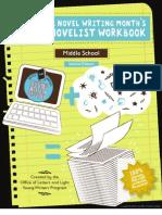 Young Novelist Workbook