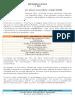 Características Do Comportamento Empreendedor (CCES)