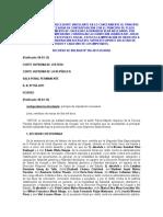 Sala Penal Permanente - R. N. N° 956-2011 - Principio de Imputación Necesaria