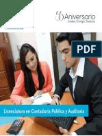UCA Licenciatura en Contaduria Publica y Auditoria