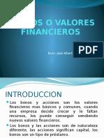 Titulos o Valores Financieros